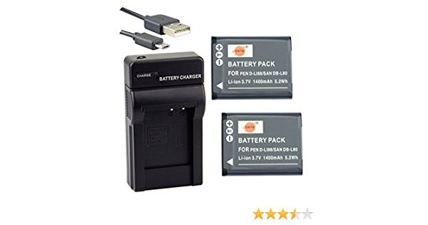 Dste D Li88 Li Ionen Batterie Und Micro Usb Ladegerät Elektronik