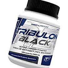 TRIBULON BLACK - Tribulon Negro - 95% de saponinas bioactivos - Extra Fuerte testosterona Estimulador - Trec Nutrition (60caps / 120caps) (120)