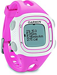 Garmin Forerunner 10 GPS Running Watch - Pink/White, Small