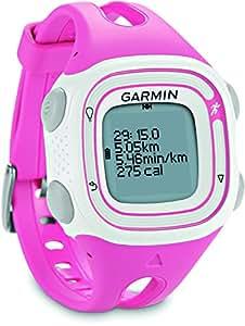 Garmin Forerunner 10 - GPS, Running, Rosa/Bianco