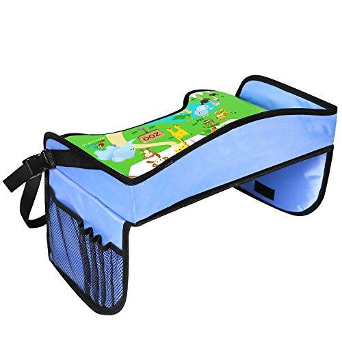Reise für Kinder Kiptop Einschub-Set für Kinder für Brote im Zug/Bus/Transporter und Reisen in Flugzeug, Auto-Kindersitz Tablett, Fahrt mit Kinder, Spiele für Kinder Balu