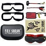 Fat Shark fsv1048Attitude V4Anniversary Edition FPV Brillen/Headset w Empfänger