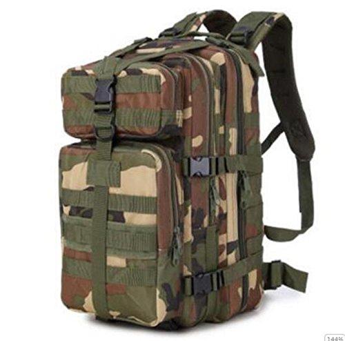 GOUQIN Outdoor Rucksack Klassische Mode Die Neue Erhöhen Outdoor Rucksäcke 35 L Wasserdicht Klettern Taschen Dschungel
