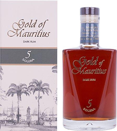 Gold of Mauritius Dark Rum 5