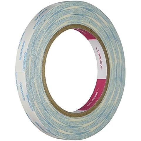 Scor-Pal - Cinta adhesiva de doble cara (1,27cm x 24,7m), transparente