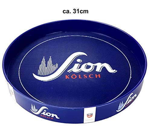 Sion Kölsch Tablett Serviertablett Kellnertablett blau ca. 31cm
