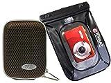 Foto Custodia Per Fotocamera Hard Box Memo M Mokka Set con sacchetto subacquea fino a 6meter