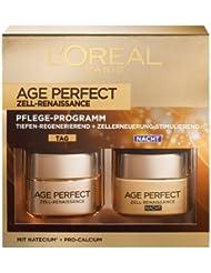 L'Oréal Paris Age Perfect Zell-Renaissance Tages- und Nachtcreme Coffret, 1er Pack (1 x 2 Stück)