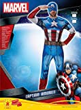 Rubies 3810845 - Captain America Marvel Univers Classic - Adult, Action Dress Ups und Zubehör, One Size -