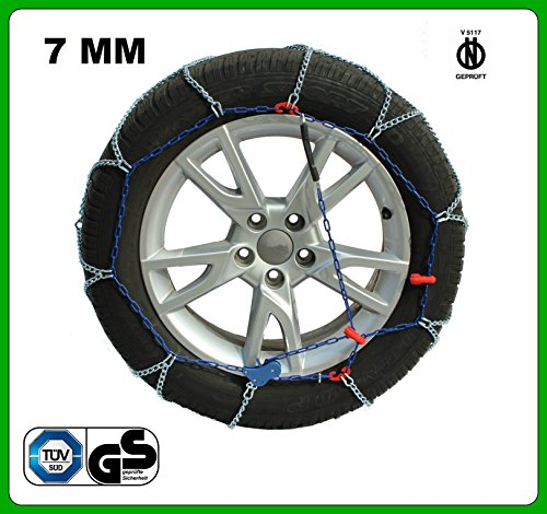 KAWIN Shopping on line Catene da Neve per Auto 7mm OMOLOGATE V5117 ZN810KW