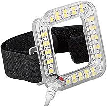 Bestlight Panneau LED 20-LED Carré avec Port USB Déclencheur de Nuit Lumière Flash Fonctionne avec Boîtier Étanche Standard pour Caméras GoPro Hero 4 Hero 3+