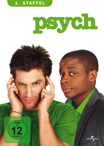 Universal Pictures Germany GmbH Psych - 1. Staffel [4 DVDs]