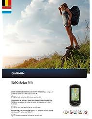 Garmin Topo Belux Pro Topographische Vektorkarte, Schwarz, Uni