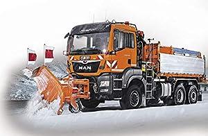 Revell Control- RC Mini Winter Service Truck Juguetes a Control Remoto, Color Naranja (23487)