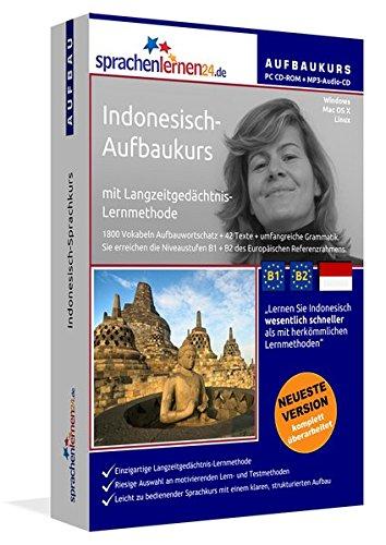 Indonesisch-Aufbaukurs mit Langzeitgedächtnis-Lernmethode von Sprachenlernen24: Lernstufen B1+B2....