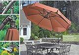 Modell - JAMAICA RUND 300 cm - 8-teilig ZANGENBERG - JAMAICA AMPELSCHIRM 300 cm Ø - ALU - SONNENSCHIRM - DER KLASSIKER - 100 % POLYESTER ca. 190 g/m²-UPF 30+50+ wetterfest - Modell: JAMAICA - ZANGENBERG - GERMANY - 300 cm - 8 teilig - Farbe: TERRACOTTA - Vertrieb Holly Produkte STABIELO ® - holly-sunshade ® - IM PREIS SIND DIE SPEDITIONSKOSTEN ENTHALTEN - FRÜH BESTELLEN WEGEN HOHER NACHFRAGE