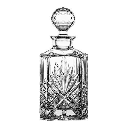 Crystaljulia Whiskeykaraffe, Kristall, 1000ml, 11 cm