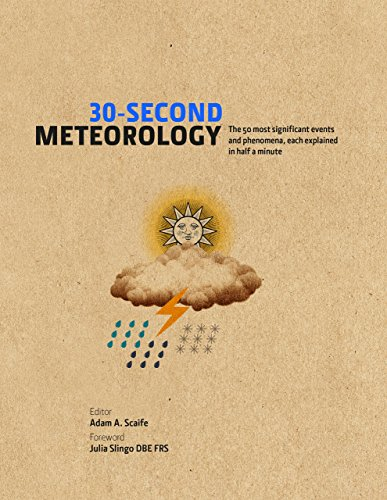 30-Second Meteorology: The 50 most significant events and phenomena, each explained in half a minute (30-Second Series) (English Edition) Blue Ice-snap