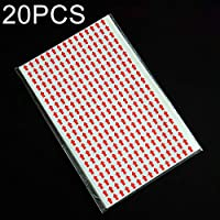 20 piezas autoadhesivas flecha retrabajo pegatina rectángulo forma retrabajo etiqueta, El embalaje conveniente