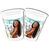 Disney 49767Moana vasos decoración plástico, 200ml
