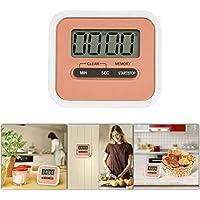 GPCT [Mini] Digital [Küche Kochen] Timer w/Lauter Alarm und eingebautem Lautsprecher. LCD Display Countdown/Zählt Rückwärts Timer, Zeit Memory Recall Funktion [magnetisch Einklappbarer Ständer] tragbar Timer rose