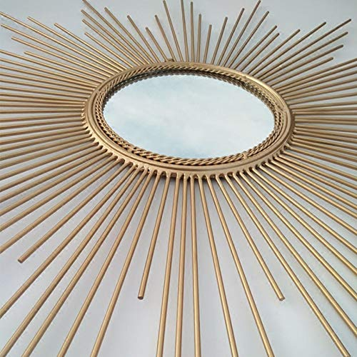 CQMYG Oro Plata Forma Sol Simple Europeo Decorativo