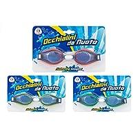 Globo Toys Globo - 36697 3 Colour Summer PVC Glasses for Swimming