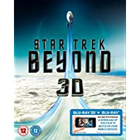 Star Trek Beyond  2D  3D Bluray