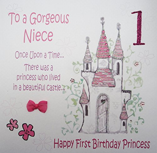 white-cotton-cards-code-xgl2-n-large-princess-castle-to-a-gorgeous-niece-1-handmade-fiary-tale-1st-b