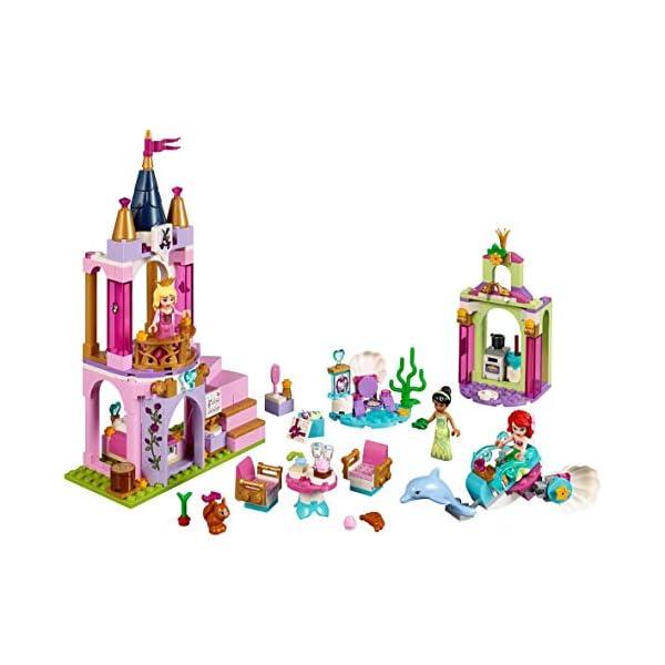 LEGO Disney Princess - I festeggiamenti reali di Ariel, Aurora e Tiana, 41162 3 spesavip