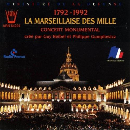 La Marseillaise Des Mille [Import anglais]