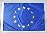 Bootsflagge Europa Europarat 30 x 45 cm in Profiqualität Flagge Motorradflagge