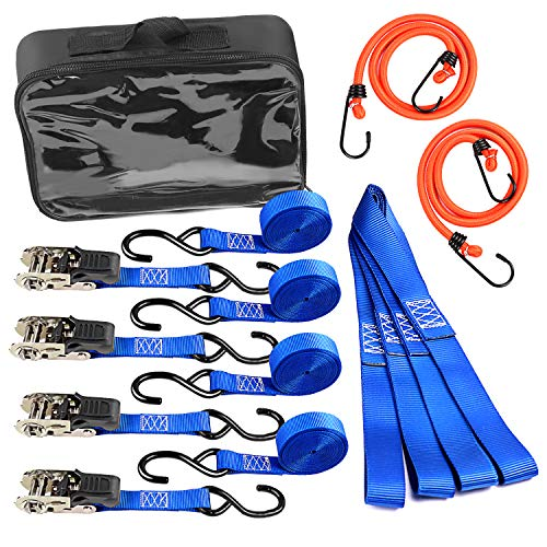Leader Accessories Set Pulpos 14 PCS 4 Correas Trinquete