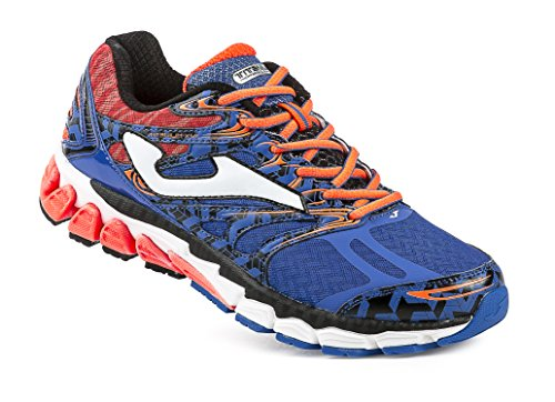 Joma - Titanium, color naranja,azul, talla UK-10.5