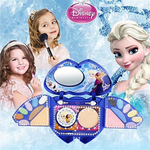 Waroomss Disney 25 Stück Mädchen Kosmetik Spielset mit Spiegel | Waschbar & nicht giftig |...