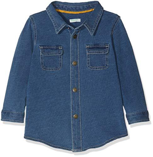 United Colors of Benetton United Colors of Benetton Baby-Jungen Hemd Shirt Blue 56