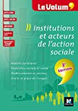 Institutions et acteurs de l'action sociale 3e édition - Le Volum' - Nº02
