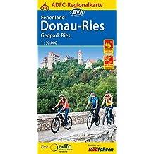 ADFC-Regionalkarte Ferienland Donau-Ries / Geopark Ries, 1:50.000, reiß- und wetterfest, GPS-Tracks Download: Von Wassertrüdingen bis zur Donau (ADFC-Regionalkarte 1:50000)