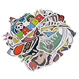 #3: Magicdeal 100 Piece Assorted Car Sticker Luggage Skateboard Graffiti Patches Decals #D