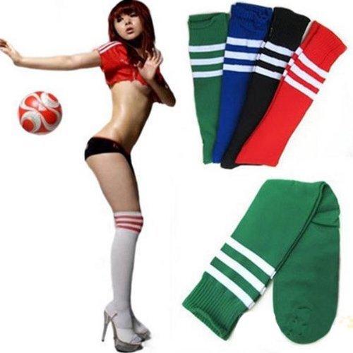 amazing-trading Kniestrümpfe Herren Damen Fußball Baseball Sport Socken - Gelb (Baseball Herren-socken)