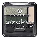 Essence Smokey Eyes Set Nr. 04 smokey green Inhalt: 3,9g Lidschatten für Smokey Eyes - Effekt.