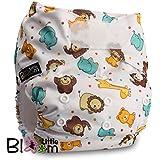 LittleBloom Bebé Pañales Lavables Pañal Reutilizable Insertos, Cierre: Hook-Loop, Set De 1