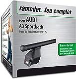 Rameder Pack Barres de Toit Tema pour Audi A3 Sportback (118762-10459-1-FR)