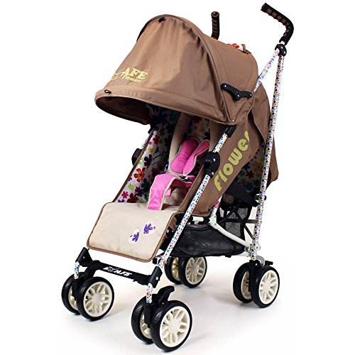 iSafe buggy Stroller Pushchair – Flowers (Complete With Rain cover) 51lN6ROKdyL