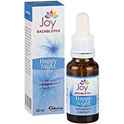 Happy Night - Bachblüten Komplexmittel, 20 ml Stockbottle