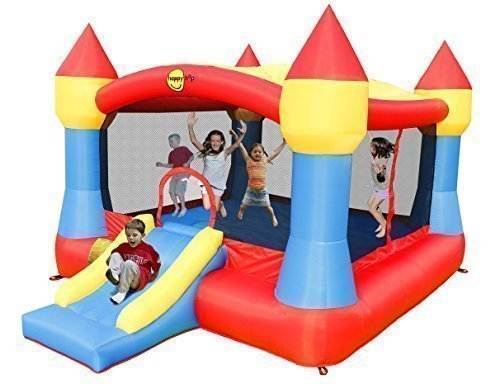 Château XXL de Happy Hop: la plus grande surface de sauter