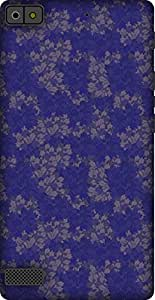 The Racoon Lean printed designer hard back mobile phone case cover for Blackberry Z3. (Purple Fal)