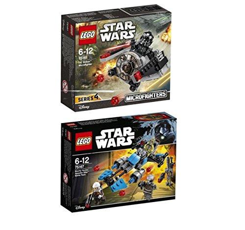 LEGO® Star Wars Set - 75161 TIE Striker Microfighter + 75167 Bounty Hunter Speeder Bike Battle Pack