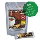 Ginseng Coffee Deluxe - Caffè solubile al ginseng - SENZA ZUCCHERO - 20 stick da 12g