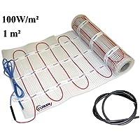 extherm Twin 100W-de Matte para eléctrico de suelo Calefacción-Cable de instalación de calefacción de calor Cómoda en todas sus Salas-erneuer Bare Solución de energía